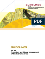 Guidelines for the Prevention and Clinical Management of Snakebite in Africa
