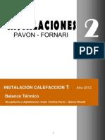 Ficha Nº 1 Calefacción - Balance Térmico
