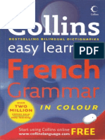 Collins Easy Learning French Grammar (Gnv64)