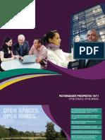Roehampton University Postgraduate Prospectus 2009/10