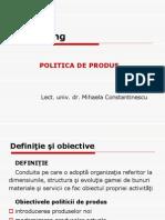 Politica de Produs