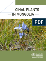 Medicinal Plants in Mongolia