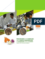Procedures for sampling and sample preparation of sweetpotato roots and potato tubers for mineral analysis
