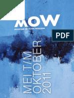 MOW Seizoensfolder mei-oktober 2011