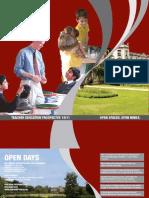 Roehampton University Teacher Education Prospectus 2009/10