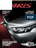 Catalogo Toyota Nuevo Yaris 2014