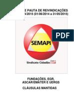 PAUTA SETOR PÚBLICO 2014 Aprovada AGE r Evisada Jurídico 30-05-14