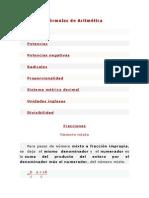 FORMULAS de Www.vitutor.net