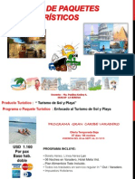 Diseños Programas de Viajes