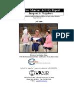 Member Activity Report IRAQ July 2009