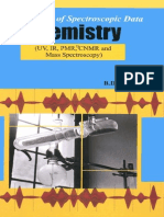 A Handbook of Spectroscopic Data Chemistry