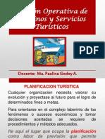 Gestión Operativa de Destinos y Servicios Turísticos
