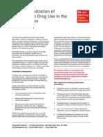 DPA Fact Sheet Criminalization of Prescription Drug Use