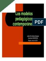 Los MODELOS Pedagogicos Contemporáneos