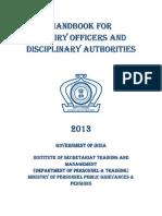 Vigilance Handbook 2013