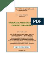 Dictionarul Ariilor Naturale Protejate Din Romania_I.marculet
