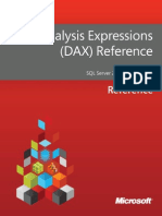 Data Analysis Expressions - DAX - Reference