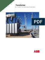_data Sheets Transformer ABB