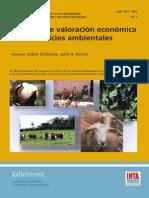 Cristeche E- Penna a- (2008) Métodos de Valoración Económica de Los Servicios Ambientales