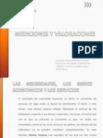 MEDICIONES Y VALORACIONES 2013 1° PARTE