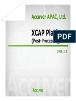Xcap User Manual