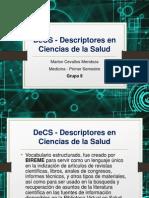 MJCM - DeCS - Descriptores en Ciencias de La Salud
