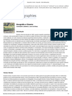 Geografia e Cinema - Geografia - Oxford Bibliografias