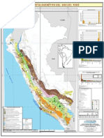 Mapa Metalogenético del oro en el Perú