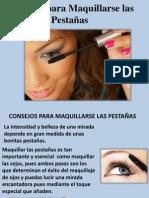 Consejos Para Maquillarse Las Pestañas