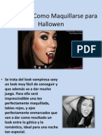 Videos de Como Maquillarse Para Hallowen