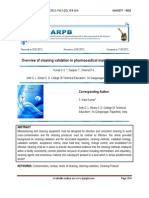 Overview of cleaning validation in pharmaceutical manufacturing unit.pdf