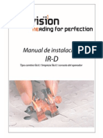 Installation Manual IR-S IR-D V2.4 Rev9.4 Easychange-easyclean-operator Console