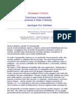 Tommaso Campanella - Scienza e fede cristiana