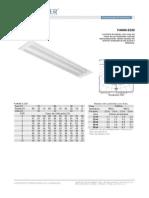 Especificação Da Luminária Embutir