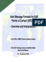 2009 USA Alert Message Formats