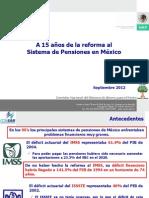 15 Anios Reforma Pensiones Mexico