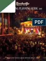 Nashville Meeting Planning Guide 2014-15