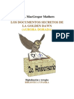MacGregor Mathers_Documentos Secretos