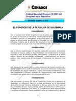 Reformas Al CodigoMunicipal Decreto 22-210