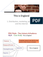 1  this is england - marketing promotion and the internet