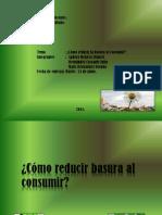 Como Reducir La Basura Al Consumir