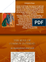 1The Rule of Common Interest