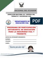 Manual Estudiantil de Seguridad Vial 2012-2013 Full
