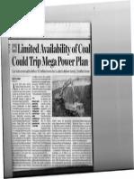Coal Non Availability