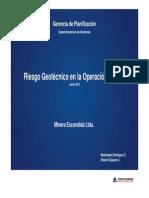 Control Geotecnico en Operaciones Mineras