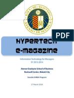 HYPERTECH E-MAGAZINE MARCH 2014