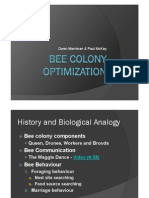 Bee Colony Algorithm