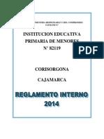 Reglamento Interno - i. e. Corisorgona