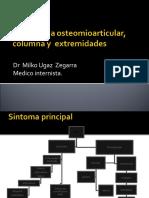 10 - Semiologia osteomioarticular, columna y  extremidades