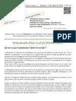 Lettre Du Cabinet - 2014 - T3